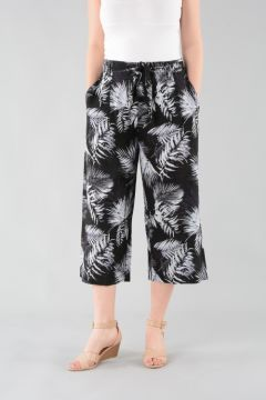 Print Cropped Trouser