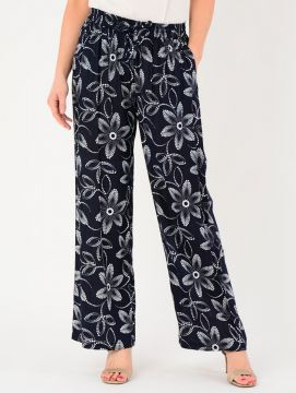 Printed Floral Trousers