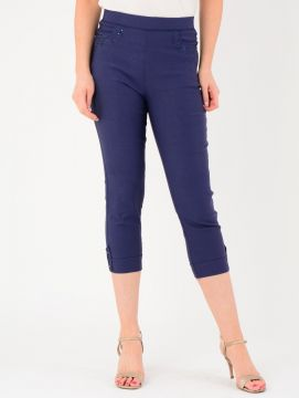 """22"""" Leg Embroidered Pocket Trousers"""