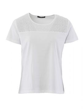 Broiderie Anglaise T Shirt