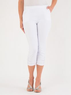 Leg Button Detail Trousers